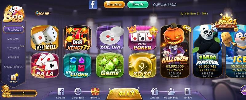 B29 Club đồ họa 3D cực độc đáo, thu hút mọi đối tượng người chơi