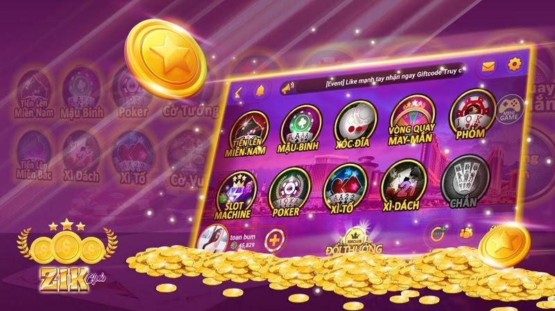 Huyền thoại game bài đổi thưởng được tóm gọn lại là Zik Club